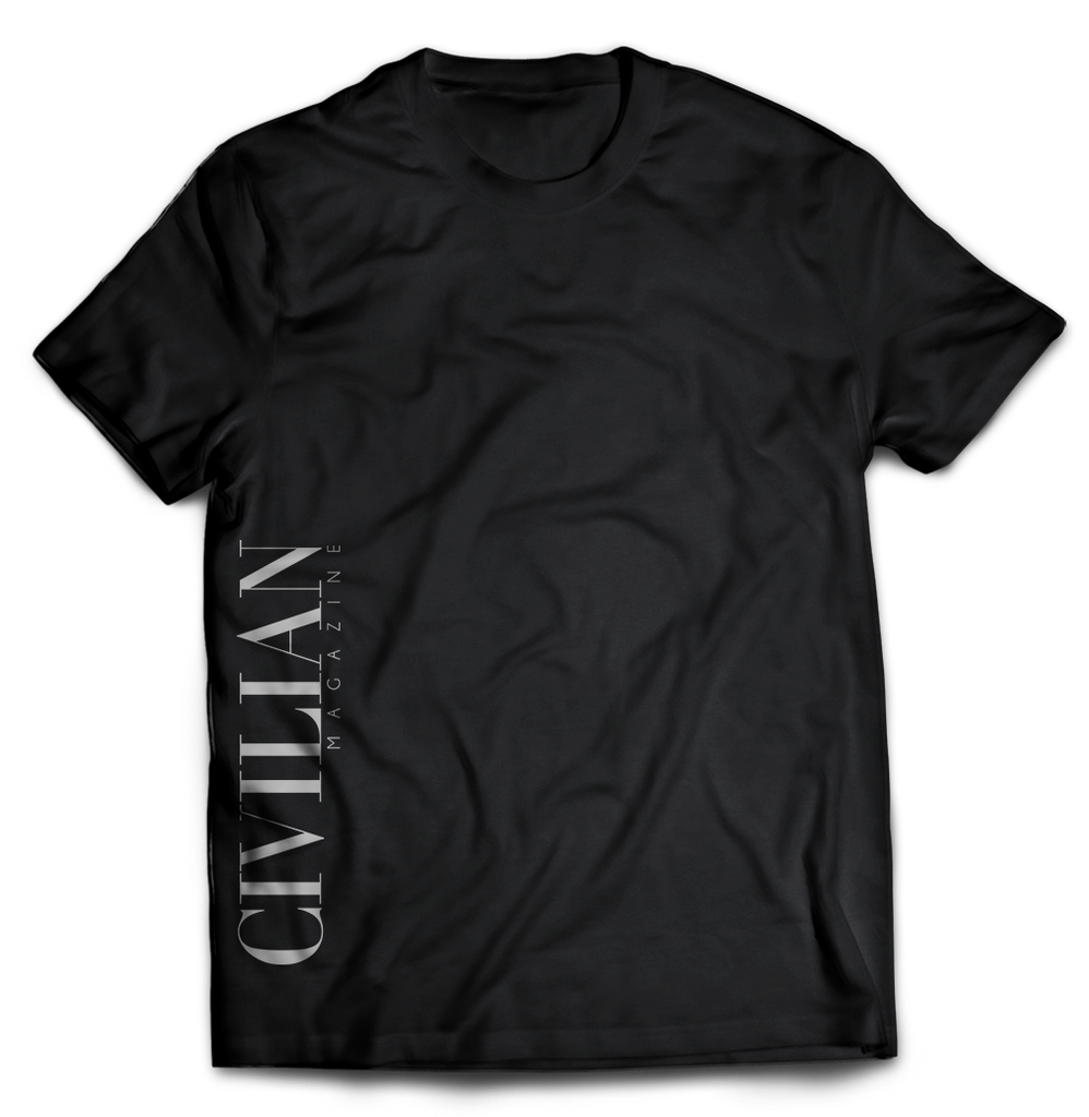 Black Short-Sleeve Tee CIVILIAN
