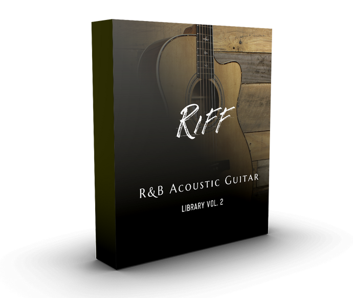 Riff R&B Acoustic Guitar Library