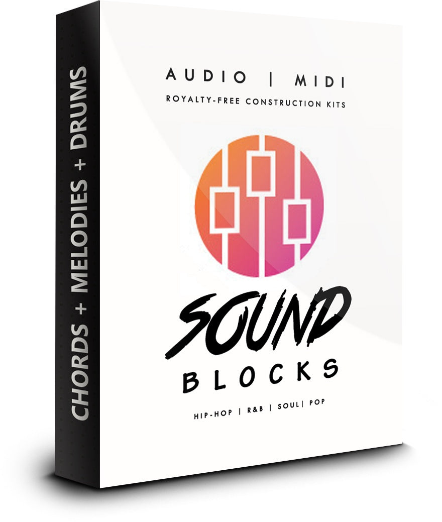 Sound Blocks Audio/MIDI Kit with MIDI Drum Patterns