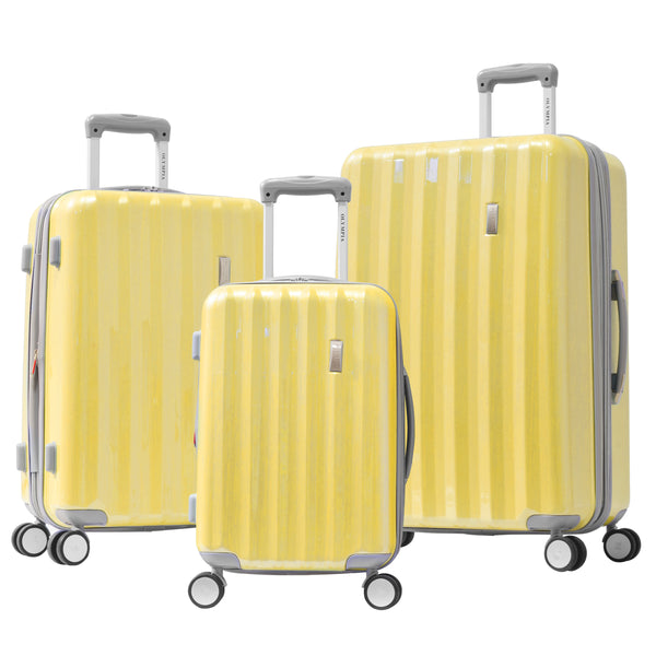 Titan II | Expandable Hard-Sided 8-Wheel Spinner Luggage | 3-Piece Set