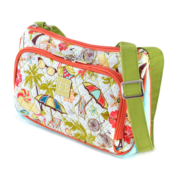 Inky & Bozko | Beachy Keen Crossbody Purse | Designer