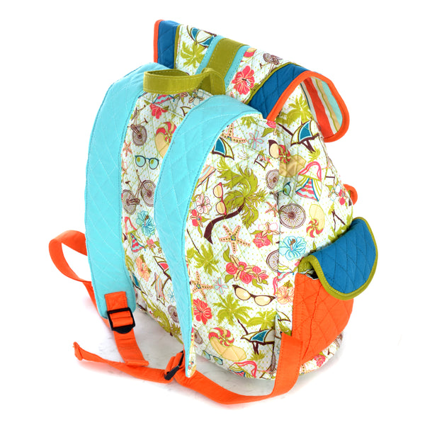 Inky & Bozko | Beachy Keen Boho Backpack | Designer