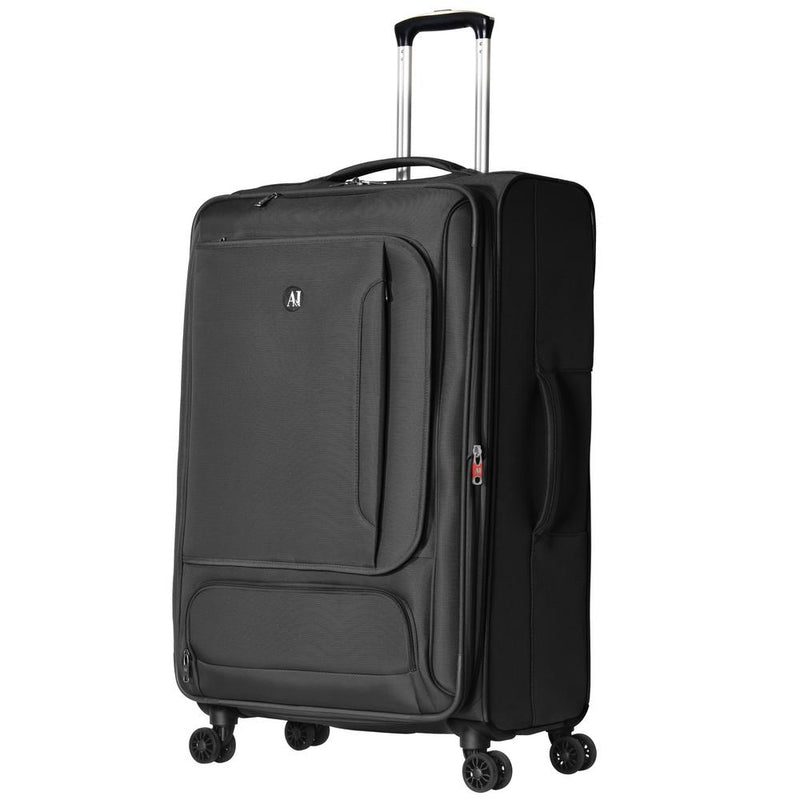 Petra | Expandable Soft-Sided Spinner Luggage | 3-Piece Set