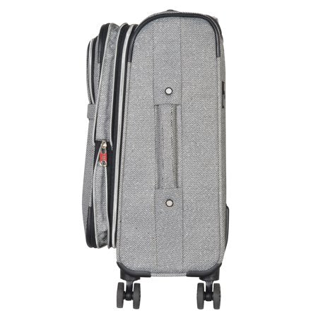 "Chandler | 21"" Expandable Soft-Sided Spinner Luggage 