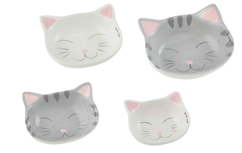 Cat Measuring Cups - Set of 4