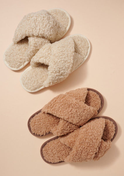 Teddy Slippers - LDLA