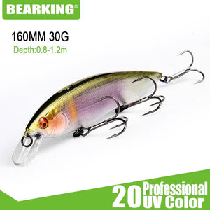 160mm 30g new lures, assorted colors, Tungsten weight system crank bait - everything-fishandhunt.com