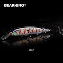 Load image into Gallery viewer, BEARKING 160mm 30g  fishing lures, assorted colors, minnow crank ,Tungsten weight system model crank bait