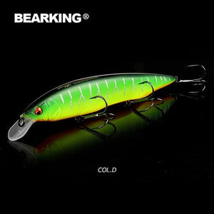 BEARKING 160mm 30g  fishing lures, assorted colors, minnow crank ,Tungsten weight system model crank bait