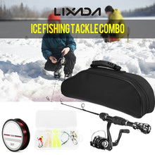 Load image into Gallery viewer, Lixada Ice Fishing Rod And Reel Combo