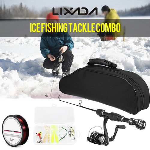Lixada Ice Fishing Rod And Reel Combo