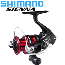 Load image into Gallery viewer, SHIMANO SIENNA Spinning Fishing Reel 1000/2500/4000