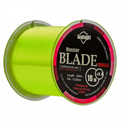 500m Blade Series  Nylon Fishing Line Monofilament Material   2-35LB