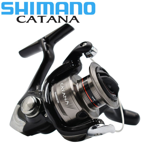 SHIMANO Reel CATANA Fishing spinning reel 2+1BB 1000/2500/3000/4000