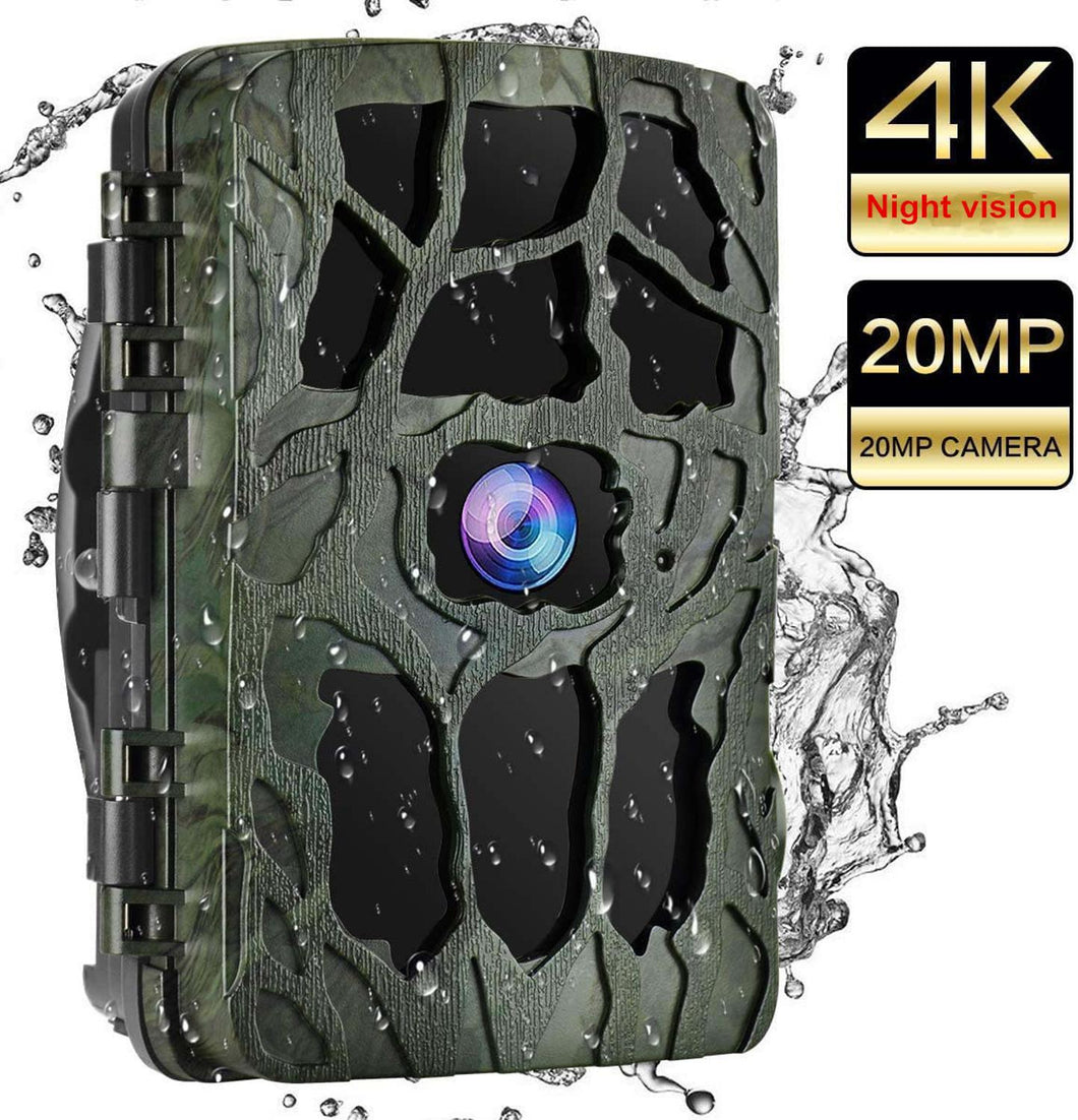 4K Hunting Camera Trap 20MP Infrared Hunt Night Vision - everything-fishandhunt.com