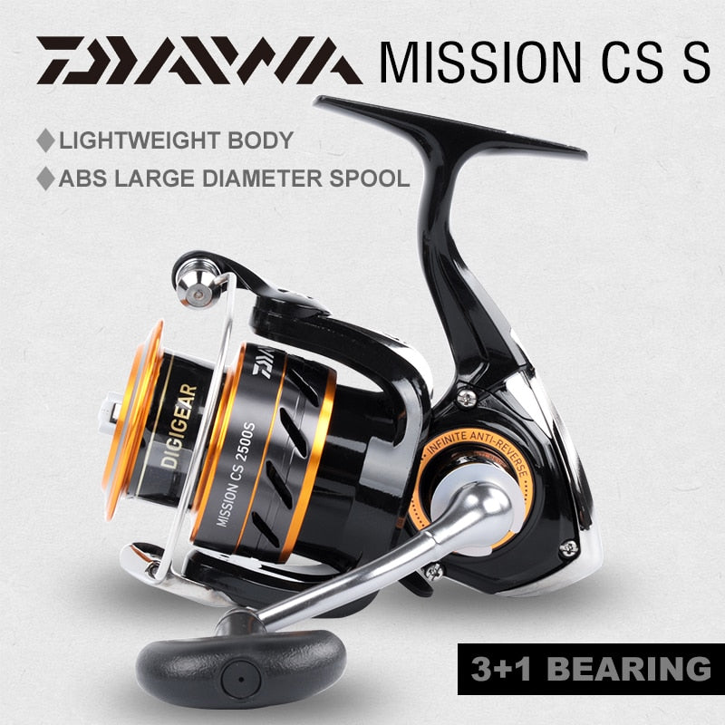 DAIWA MISSION CS Spinning fishing reel 2000S 2500S 3000S 4000S