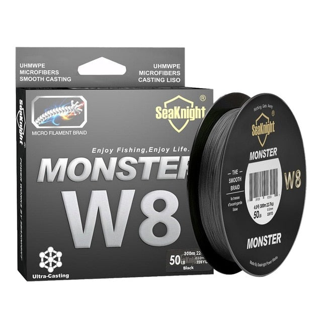 SeaKnight Brand W8 Fishing Line 150M 300M 500M 8 Strands Braided