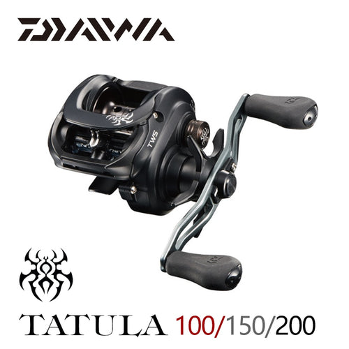 DAIWA TATULA 100 150 200 Baitcasting Reel MAX DRAG 5kg/6kg low profile fishing reel 7BB+1RB