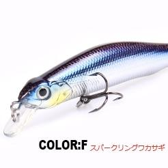 Fishing lures, assorted colors, minnow crank  80mm 8.5g,magnet system.