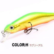 Load image into Gallery viewer, Fishing lures, assorted colors, minnow crank  80mm 8.5g,magnet system.