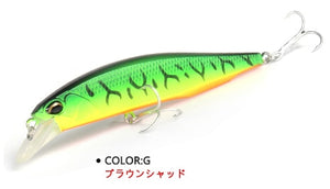 Bearking  fishing lures hard bait 5 colors for choice 100mm 14.5g  quality professional minnow - everything-fishandhunt.com