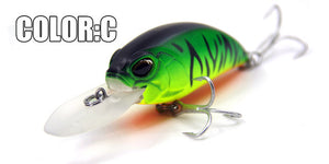 New crank 65mm&16g 5color for choose  dive 10-12ft, - everything-fishandhunt.com