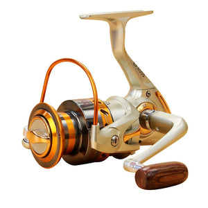 Quality Fishing Reels Spinning  500/7000S Metal 12 BB4.1:1 5.2:1  5.5:1 160/660g - everything-fishandhunt.com