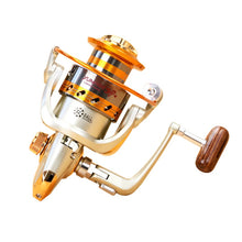 Load image into Gallery viewer, Quality Fishing Reels Spinning  500/7000S Metal 12 BB4.1:1 5.2:1  5.5:1 160/660g