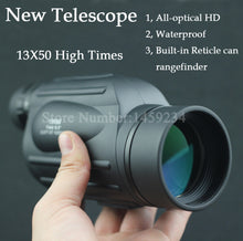 Load image into Gallery viewer, Waterproof Range Finder telescope Distance Measuring FMC Monocular Telescope - everything-fishandhunt.com