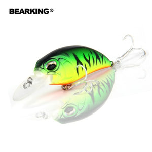 Quality fishing lure  65mm,14g crank dive 2m for pike and bass