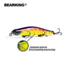 Load image into Gallery viewer, Bearking 11cm 17g magnet weight system long casting dive 0.8-1.2m quality wobblers minnow - everything-fishandhunt.com