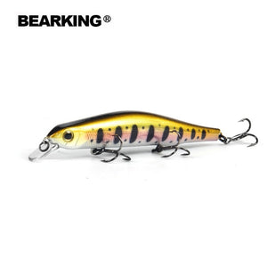 Bearking 11cm 17g magnet weight system long casting dive 0.8-1.2m quality wobblers minnow - everything-fishandhunt.com