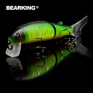 Professional bait 11.3cm 13.7g  jointed bait equipped black or white hook