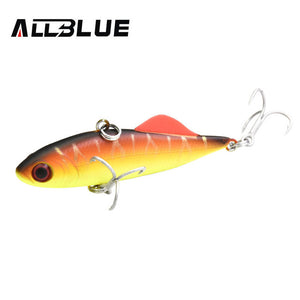 Hard Plastic Artificial VIB Winter Ice Jigging Pike Bait