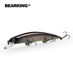Bearking 11cm 17g Dive 1.5m super weight system long casting SP minnow quality wobblers - everything-fishandhunt.com