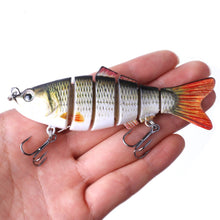 Load image into Gallery viewer, 10cm bait fishing gear is simulated. Bait fish - everything-fishandhunt.com