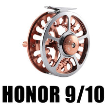 Load image into Gallery viewer, HONOR Fly Fishing Reel 3/4 5/6 7/8 9/10 Interchangeable  3BB 1:1