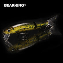 Load image into Gallery viewer, Professional bait 11.3cm 13.7g  jointed bait equipped black or white hook