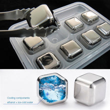 Load image into Gallery viewer, stainless steel ice cube