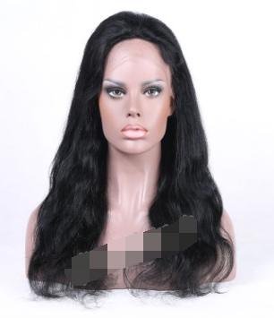 Ladies full lace wig, long hair and real hair,