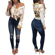 Load image into Gallery viewer, Stylish Printed Blouse