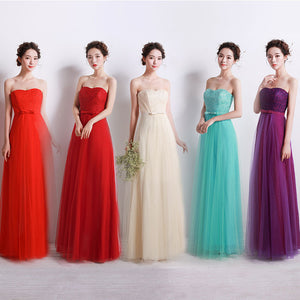 Wedding Gown Sisters Bride's maid Dresses Toastmaster Evening Dress Formal Dress