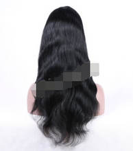 Load image into Gallery viewer, Ladies full lace wig, long hair and real hair,