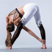 Load image into Gallery viewer, Women's Printing Sports Pants Elasticity Tight Fitness Pants Leggings