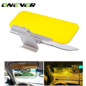 Onever Car Anti-Glare Dazzling Goggle Sun Visors Day and Night Vision Driving Mirror Auto Sun Visors Car Accessories Mirror