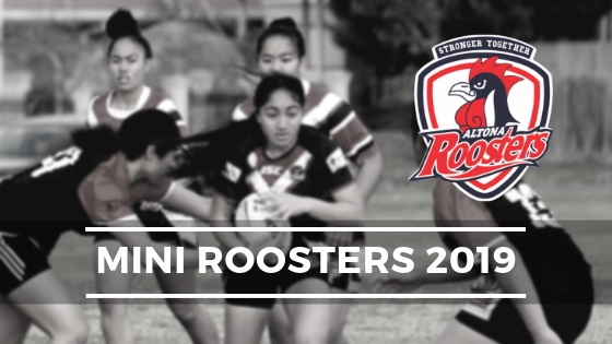 MINI ROOSTERS TRAINING TO START MARCH 7th