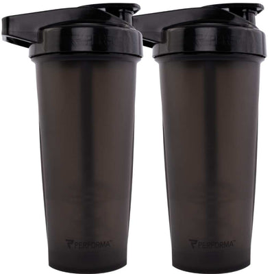 Bundle 2 Pack, ACTIV Shaker Cups, 28oz (800mL), Black, Performa Canada