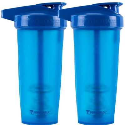 Bundle 2 Pack, ACTIV Shaker Cups, 28oz (800mL), Blue, Performa Canada