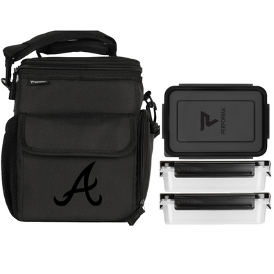 3 Meal Cooler Bag, Atlanta Braves, Performa Canada