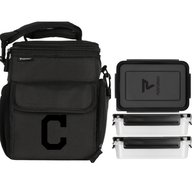 3 Meal Cooler Bag, Cleveland Indians, Performa USA